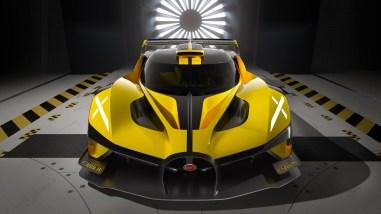 Photo face avant Bugatti Bolide 2021