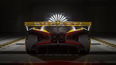 Photo arrière Bugatti Bolide 2021
