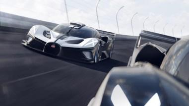 Photo dynamqiue Bugatti Bolide 2021
