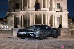 Photo nuit McLaren GT 2021