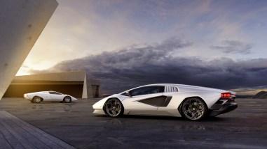Photo statique Lamborghini Countach 2021