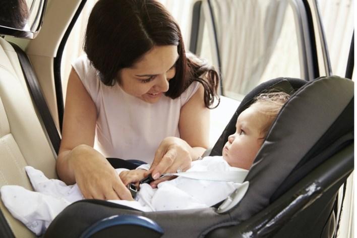 voyage en voiture avec un enfant