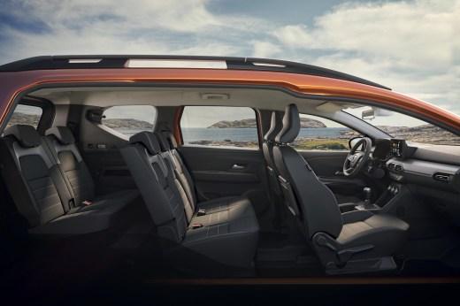 Photo sièges Dacia Jogger 2021