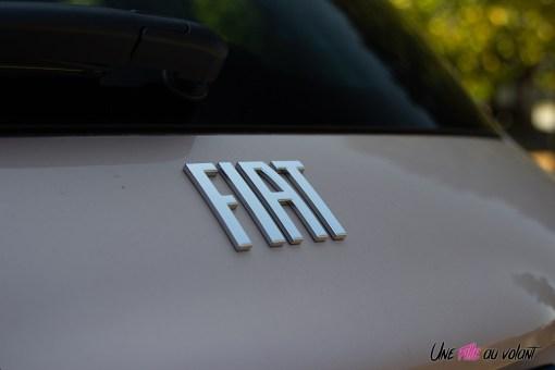 Photo logo arrière Fiat 500 électrique 2021