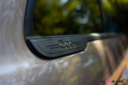 Photo logo custode Fiat 500 électrique 2021