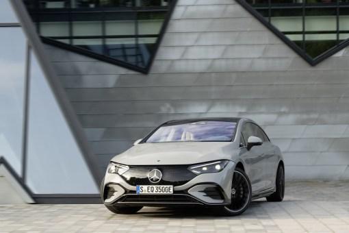 Photo Mercedes EQE électrique 2021