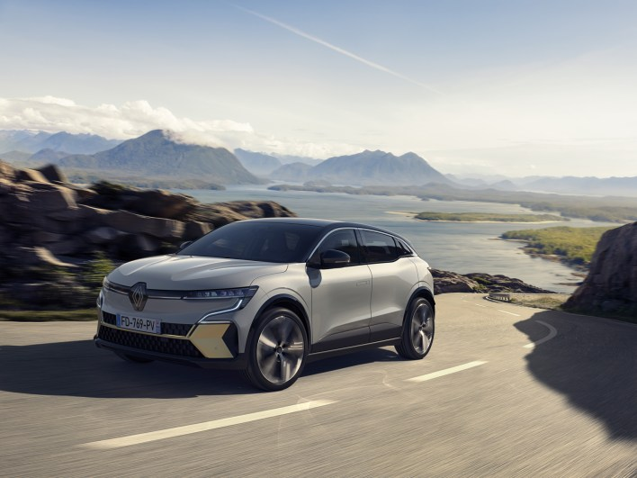 Photo nouvelle Renault Megane E-Tech Electric 2021