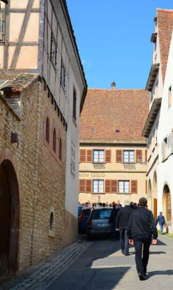 Dans les rues de Mittelbergheim