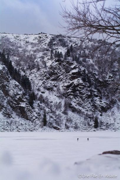 Sortie raquettes au Lac Blanc Kaysersberg Photo Céline Schnell Une Fille En Alsace