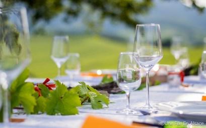 Un dîner au coeur du vignoble avec le domaine Sohler de Nothalten