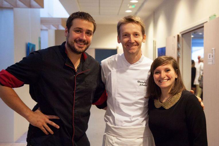 Christophe Schreiber, Noémie Honiat et Quentin Bourdy
