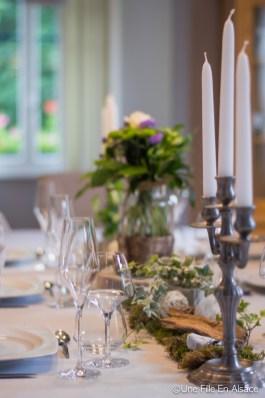 Table d'Hôtes - Chambres d'hôtes Les Ecrins à Orbey - Photo Céline Schnell - Une Fille En Alsace
