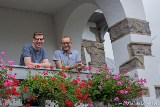 Patrick et Sébastien Chambres d'hôtes Les Ecrins à Orbey - Photo Céline Schnell - Une Fille En Alsace