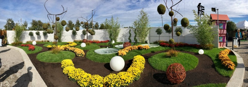 Jardin éphémères Folie'Flore 2017