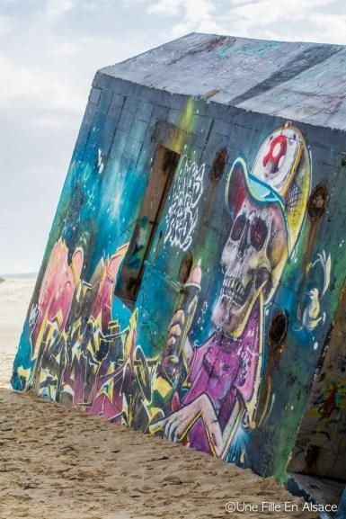Bunker au Cap Ferret Photo Céline Schnell - Une Fille En Alsace