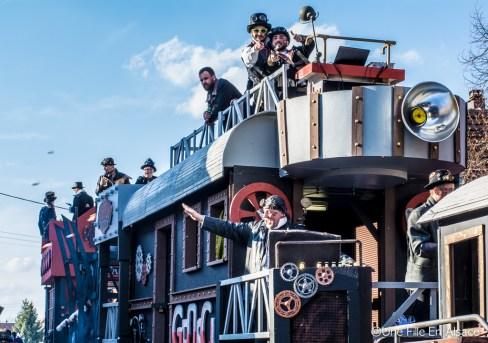 carnaval en centre alsace -Sundhouse - Photos Céline Schnell Une Fille En Alsace