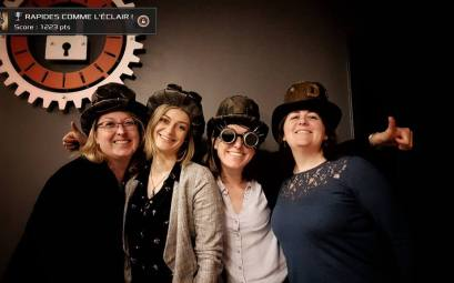 Escape Game Team Factory & bar à jeux - Photos Céline Schnell Une Fille En Alsace