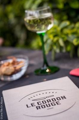 Apéritif au Restaurant le Cordon Rouge à Furdenheim - Photo Céline Schnell Une Fille En Alsace