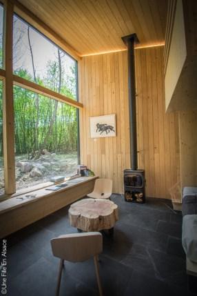 Lodge au Parc de Sainte Croix - Photo Céline Schnell Une Fille En Alsace