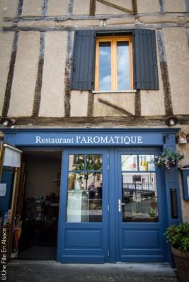 Restaurant l'Aromatique à Naucelle Segala Aveyron - Photo Céline Schnell Une Fille En Alsace
