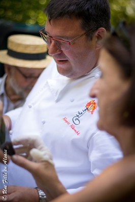 Alexis Albrecht Restaurant Au Vieux Couvent Rhinau - Photo Céline Schnell Une Fille En Alsace