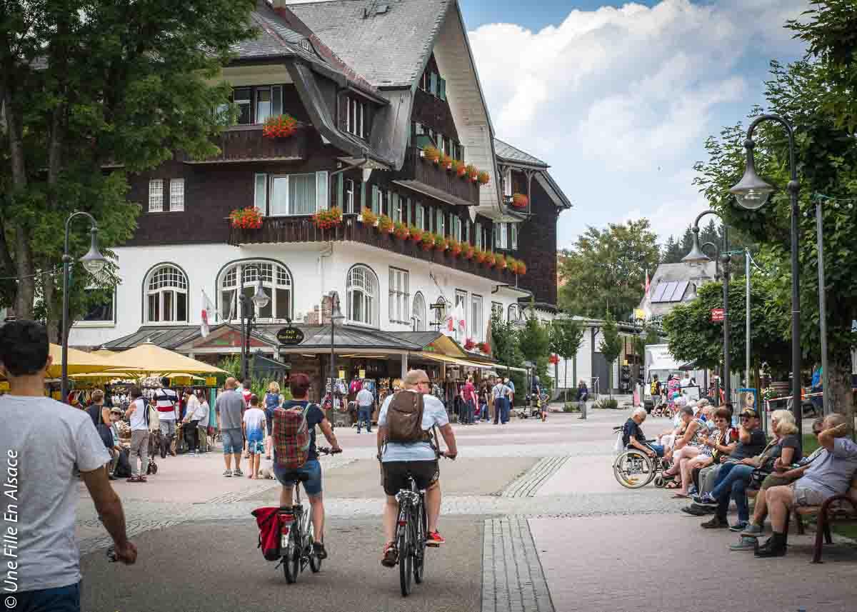 Titisee en Forêt-Noire - Allemagne - Photo Céline Schnell Une Fille En Alsace