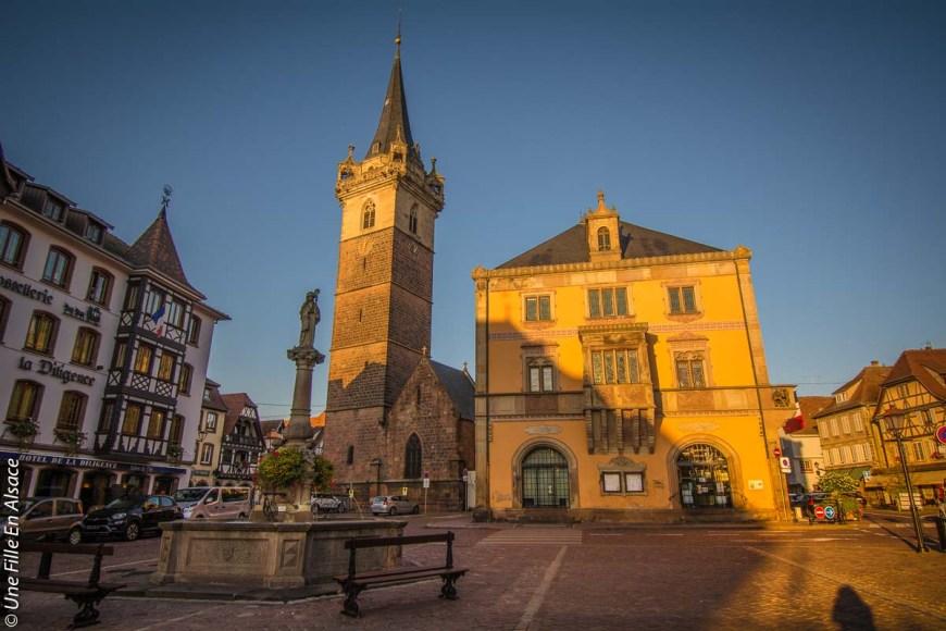Place du Marché à Obernai Credit photo Celine Une Fille en Alsace