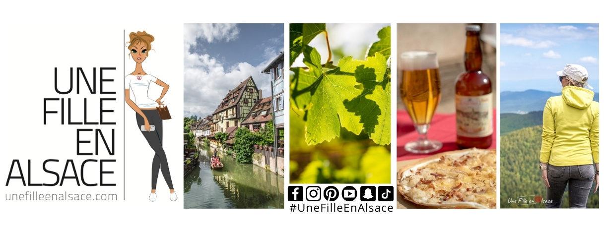 Couverture Une Fille en Alsace 2021
