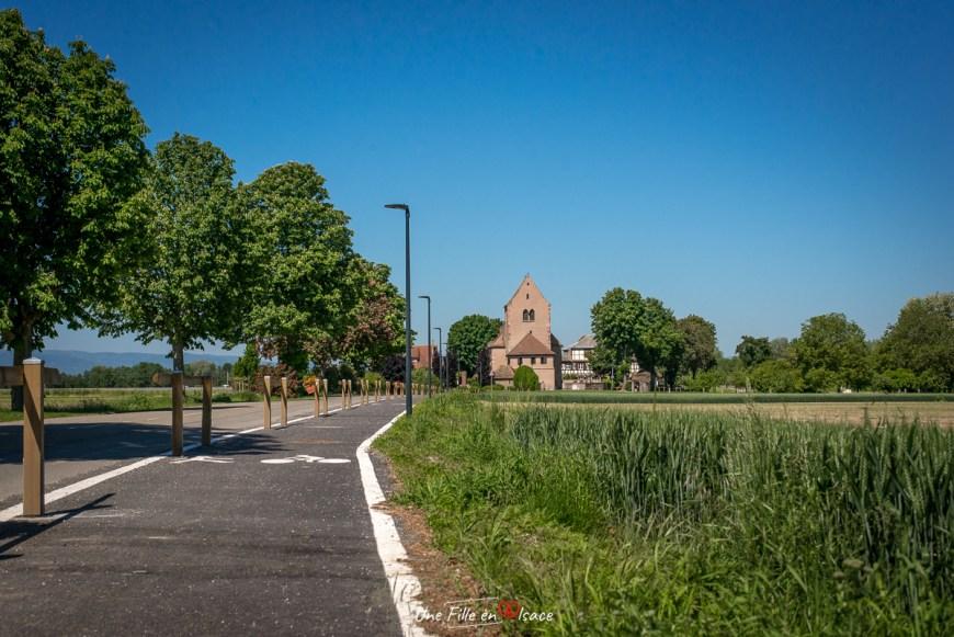 Chapelle Saint Ludan - Hipsheim Grand Ried Une Fille en Alsace