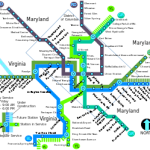 DC transit map
