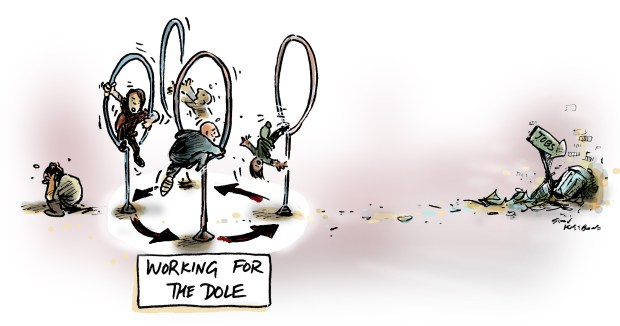Working for dole pic