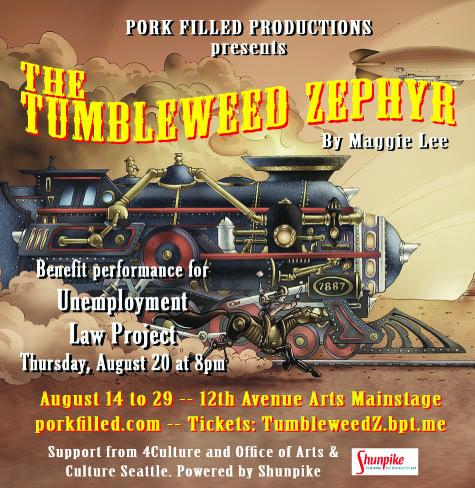 Tumbleweed Zephyr Poster