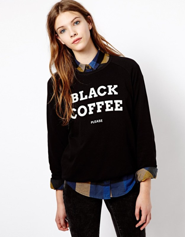 PullBear-Black-Coffee-Sweatshirt