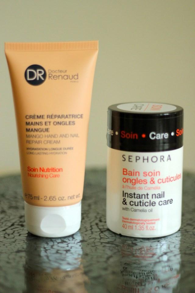 crème mains Dr Renaud , bain soin Sephora