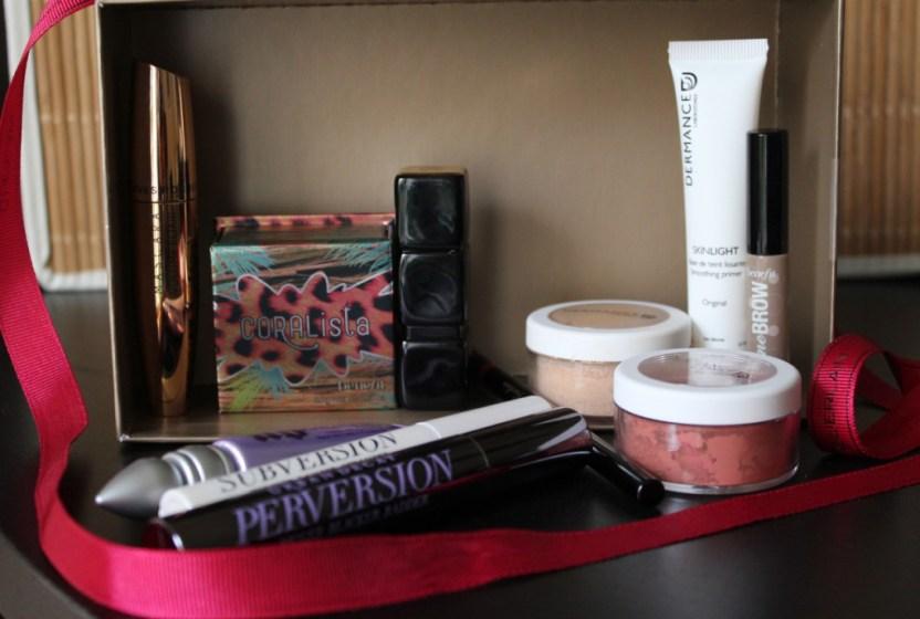 produits de maquillage favoris