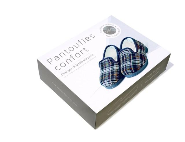 celio boîte pantoufles confort St Valentin...