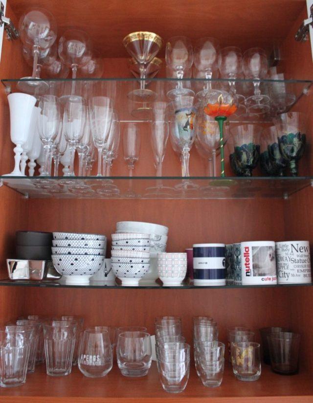 étagère-verres