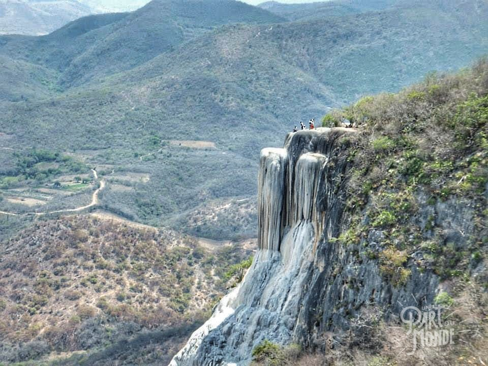 Cascades pétrifiées Hierve el agua