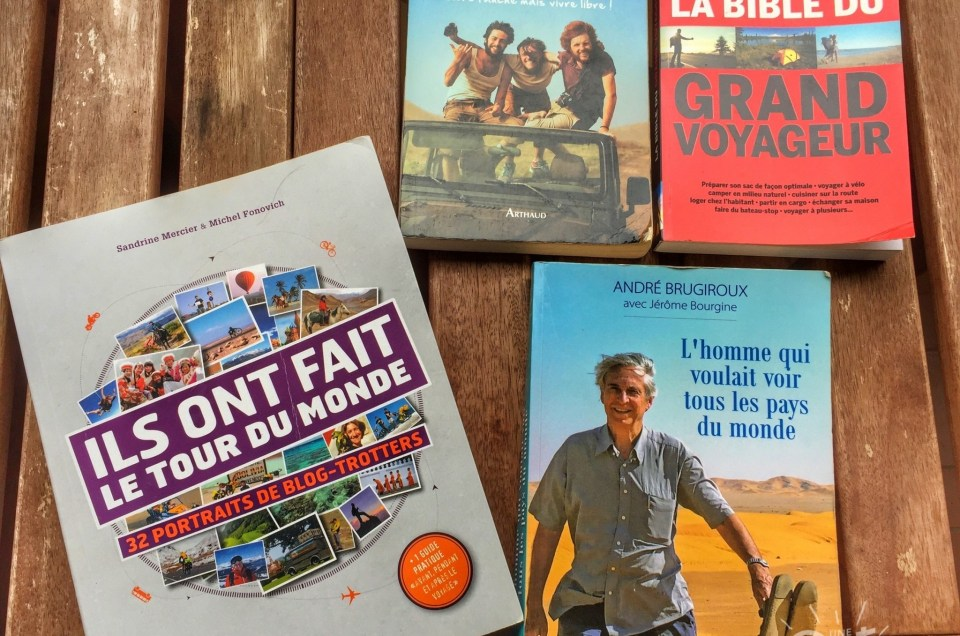 Notre sélection de livres voyages préférés