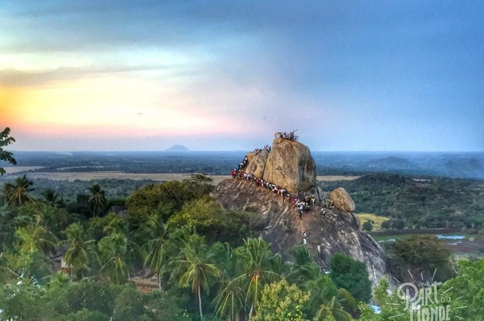 Sri Lanka : Mihintale et son site bouddhiste