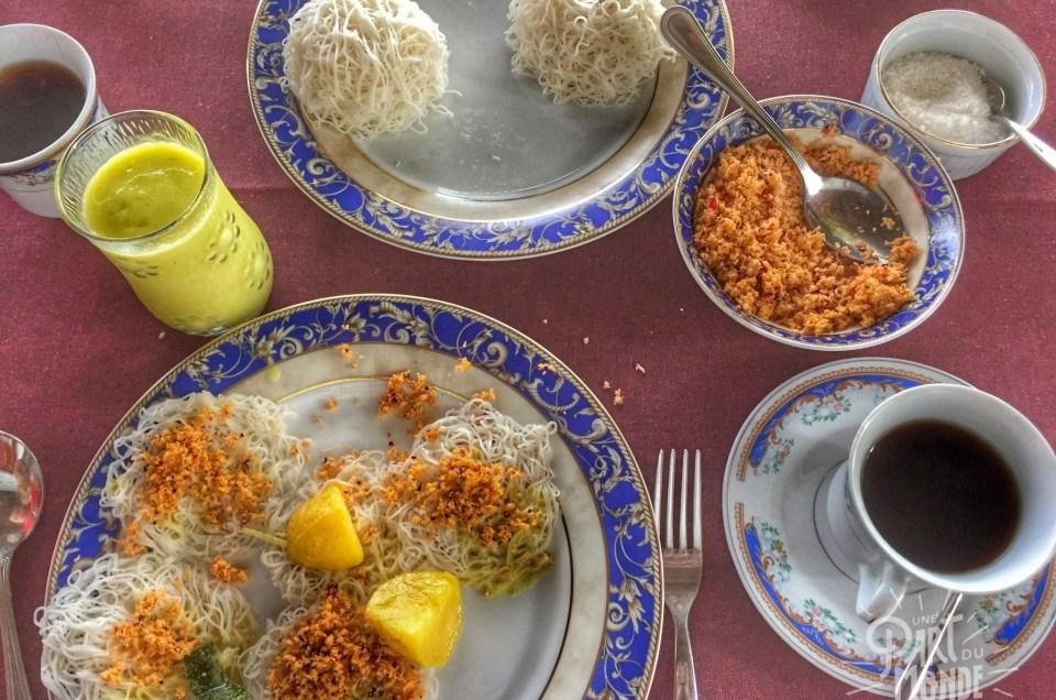Gastronomie Sri Lankaise : dépaysante et épicée, les délices à ne pas manquer !