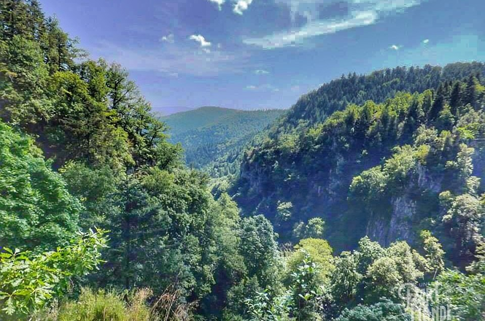 Balade à la cascade du Nideck en Alsace