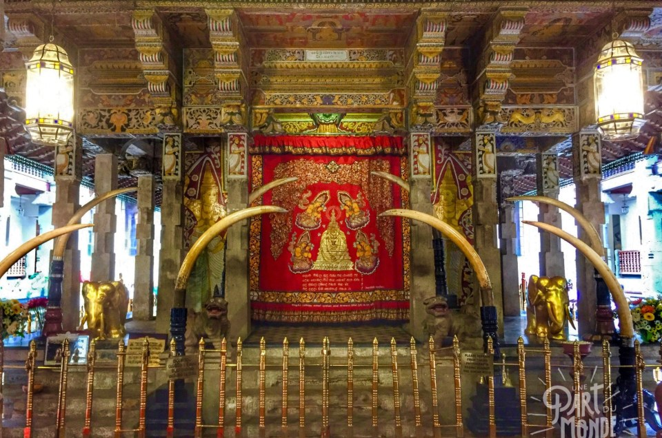 Sri Lanka : Kandy et le temple de la dent