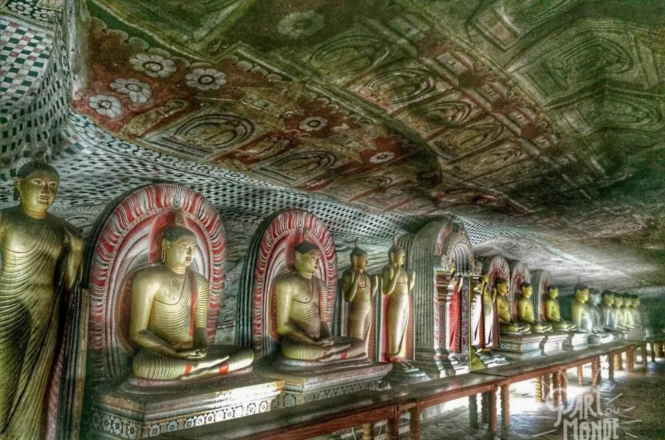 Sri Lanka : Les grottes de Dambulla