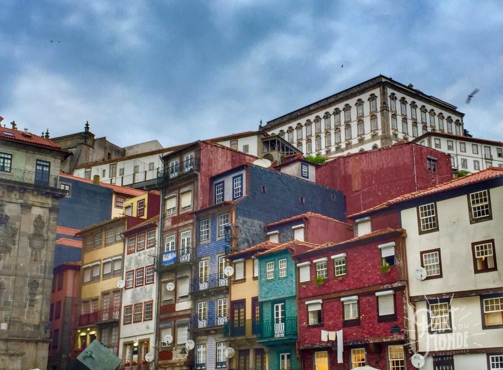 facade colorées porto