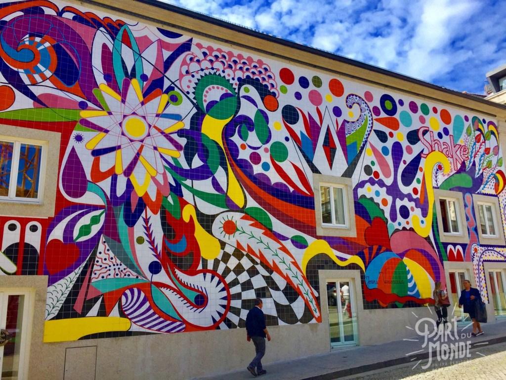 street art shake porto