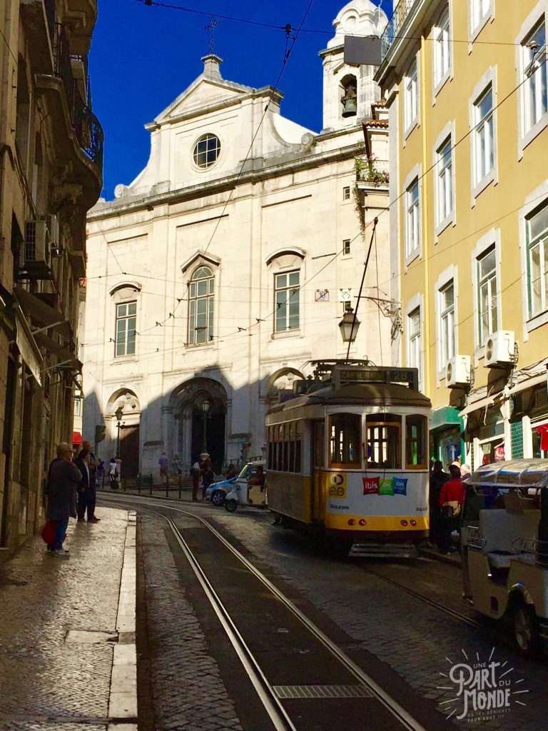 week end à Lisbonne tram
