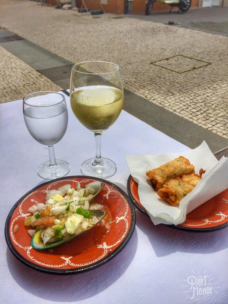 gastronomie à porto Afurada-petiscos