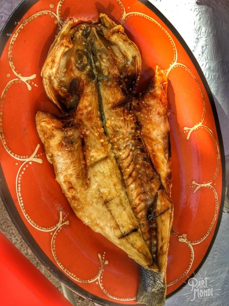 gastronomie à porto afurada poisson
