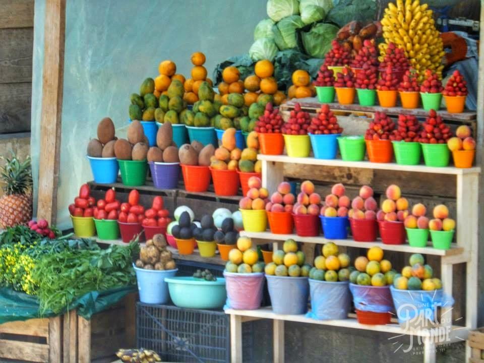 gastronomie mexicain fruits marché